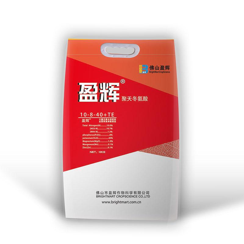 盈辉肥10-8-40+MgO+TE